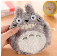Wallets Women Polyester 1PCS Mini Cute Cartoon Totoro Coin Cases key purse storage bag small cases free shipping