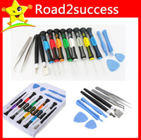 Wholesale 16 in Versatile Repair Tool Kit Screwdrivers Kit For phone mp3 and Other Electronic Devices E packet MOQ set