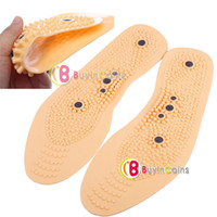 Wholesale Clean Health Foot Care Magnetic Therapy Thener Massage Insoles Shoe Comfort Pads