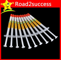 Wholesale Syringe White Grey Silicone Thermal Grease Heatsink Compound Paste CPU GPU VGA for CPU Heatsink Heat Sink DHL Fedex Free