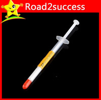 Wholesale 100pcs g CPU Thermal Paste Heatsink Compound Silver Grease Tube E packet China Sweden Post