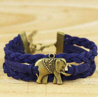 Charm Bracelets adorable baby gifts - Elephant Bracelet Adorable Baby Elephant Charm in Silver or Bronze Brown Bracelet Christmas Gift Bridesmaid Friendship
