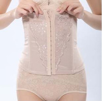 Wholesale EMS Magic Women Waist Tummy Abdomen Slim Shapewear Belt Corset Cincher Trimmer Girdle Band Strapless K07727