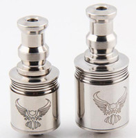 Replaceable stainless steel  22mm Patriot clone mod tank rebuildable rba stainless steel atomizer rda dry herb vaporizer fit chiyou chi you king bagua e cigarette DHL