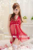 Wholesale Extreme Sexy women Costumes temptation bedroom wear sexy tranparent lingeries Drop ship US1696A