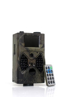 Wholesale 940nm Black IR invisable MMS GSM Scouting Camera Deer Camera HC300M with antenna