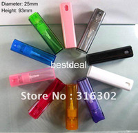 Glass Refillable Bottles Yes (DHL)Free shipping-- 100 lot 10ML Square Travel Plastic perfume Atomizer,10ml Refillable Spray Perfume Bottle