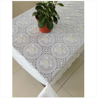 Wholesale Disposable table lace plastic pvc coffee table cloth for party home wedding rustic table cloth anti hot waterproof