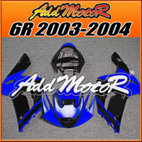 Wholesale Addmotor Injection Mold Fairing For Kawasaki ZX R ZX6R ZX R Blue Black K6334 Free Gifts