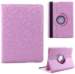 Wholesale 360 Degree Rotating DIAMOND Bling Glitter SPARKLY Maple leaves Stand PU Leather CASE FOR iPAD air mini Retina Tablet PC case
