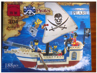Wholesale Enlighten corsair pirate ship toys Building Block Set Brick Toy Toys for kid