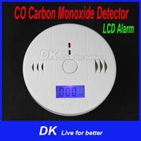 carbon monoxide detector - LCD CO Carbon Monoxide Detector Poisoning Gas Fire Warning Alarm Sensor Home Security Alarm DK