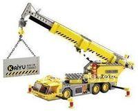 Wholesale Christmas gift Enlighten Child educational toys crane KAZI DIY toys building block sets children toys for kid