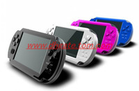 Wholesale 1pcs portable handheld game console GB inch multimedia mp5 player game player with FM MP camera
