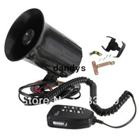 Wholesale V Loud Siren Horn Alarm for Car Auto Truck Motorcycle Sounds Tone System dandys