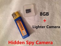 Wholesale 8GB Spy Lighter Camera FPS Mini DV Spy Camera DVR Hidden Camera Camcorder