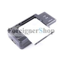 Adaptador universal del recorrido de la pared del muelle de la sinc. Del USB del cargador del LCD para la galaxia S S2 S3 S5 de Samsung Nota 2 3 4 iphone 4 4S 5 5S 6 Batería SS-5