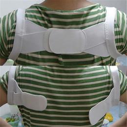 Wholesale New Arrival Adjustable Therapy Back Support Brace Belt Band Posture Shoulder Corrector V7431