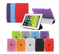 Magnetic Smart Cover + Back crystal Case For iPad Air 5 iPad...