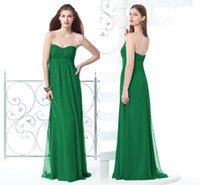 Reference Images Ruched Sleeveless 2014 Strapless Lime Green Bridesmaid Dress with Ruched Chiffon A Line Zipper Sleeveless Floor Length Evening Gowns High Quality DX508