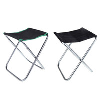 Chair aluminum bag chair - Green Black Portable Camping Folding Aluminum Oxford Cloth Chair Outdoor Patio Fishing Camping with Carry Bag H10203