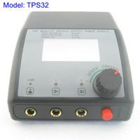 Compra Tatuaje fuente de alimentación digital dual-Fuente de alimentación dual del tatuaje de la exhibición del LCD Digital para el sistema del kit de la ametralladora Fuente TPS32 #