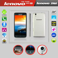 Lenovo 5.0 Android Lenovo S960 MTK6589T Quad Core 1.5GHZ Android Cell Phone 2G RAM 16G ROM With 5.0Inch IPS Gorilla glass 3G GPS Smart Phone Single Sim
