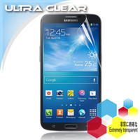 For Galaxy Mega 6.3 i9200 i9205 i9208 PET materialPET material China Mainland For Samsung Galaxy Mega 6.3 i9200 i9205 i9208 Fonblet 6.3 Clear Screen Protector Protective Phone Film