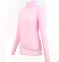 Wholesale Golf ball clothes women s long sleeve T shirt function underwear sun basic shirt