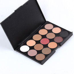 Wholesale Eyeshadow Matte Makeup Palette Cosmetics New Shade For Eyes Colors Smoked Palette Eyeshadow Palette Brand Makeup Eye shadow E15