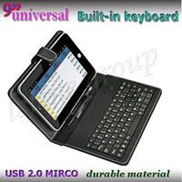 "with cover and belt 9''inch tablet pc 9''inch tablet pc Universal 9 Inch Leather Keyboard Case Cover with stand For 9"" Tablet PC MID factory price"