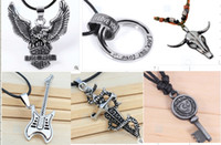 eagle pendant - 19 Styles OUTLETS Alloy necklace spread eagles man necklace pendant men necklace cool fashion jewelry cheap jewelry FH