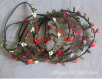 Multy- color Bohemian Flower Headband Festival Wedding Floral...