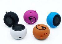 Wholesale 201404Q Portable pocket Mini Hamburger Speaker for Laptop PC MP3 Audio Amplifier Color sent at random