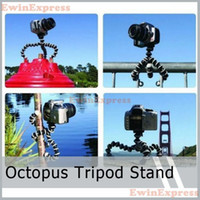 Wholesale 4 X Mini Mini Octopus Flexible Tripod Stand Holder for Nikon Samsung Canon Camera Video