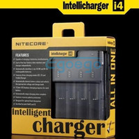 Wholesale Nitecore Battery Charger for CR123 AA AAA Battery Charger Nitecore I4 Charger With Retail Package