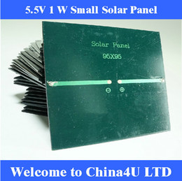 Wholesale 5 V W mA Mini monocrystalline polycrystalline solar Panel small resin solar cell PV module DIY solar Kits