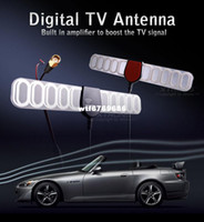Wholesale GPS Digital TV Active Antenna Mobile Car Digital DVB T ISDB T Aerial with a Amplifier Booster