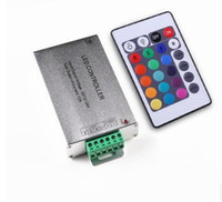 DC honest wholesale - Honest priceX10 DC V A Wireless LED Controller RF Touch Panel LED Dimmer RGB Remote Controller for chip RGB LED STRIP LIGHT