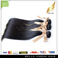 Wholesale 100 Chinese Virgin Hair Extension bundles Remy Human Hair Extensions Silky Straight Natural Color Unprocessed Raw Human Hair