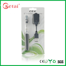 Wholesale CE4 electronic smoke electronic cigarette EGO digitizer blister package AMH