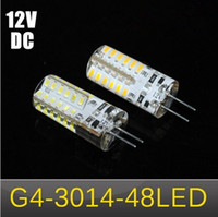Wholesale NEWEST W G4 SMD LEDs LED lamps Crystal Chandelier DC V Silicone LED bulbs Non polar Pendant lights for indoor corridors offices