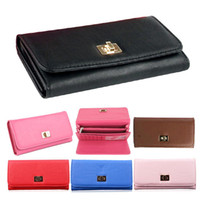 Wholesale S5Q Women Ladies Fashion PU Leather Wallet Cross Clutch Purse Long Handbag Bag AAADEK