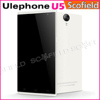 WCDMA Multi-Language (Please See Picture) Android Ulefone U5 5.5 Inch IPS QHD MTK6582 Quad core Smart Phone Android Cell Phone 1GB RAM 4GB ROM 8.0MP Miracast OTG Gesture Android 4.2