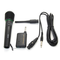 Wholesale S5Q in1 Wired Wireless Handheld Microphone Mic Receiver System Undirectional AAADEG