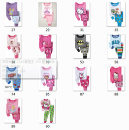 Wholesale 100 cotton registered rib knit children kids baby boy girl toddler longsleeve pajama pyjama sleepwear clothing set Guangzhou