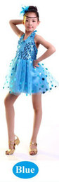 Wholesale Child indian costume girl children kids belly dance clothes performance wear stage clothing party tutu Latest tulle dress