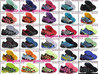 Wholesale High Quality Zapatillas Salomon Athletic Shoes Speedcross men women s Running Shoes Ourdoor Sport Shoes Size