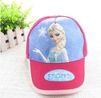 Wholesale 2014 HOT sale Frozen princess fashion cheap snapback hats high quality polo hats men s and women baseball cap cotton