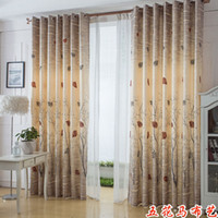 Wholesale Curtains Balcony Half Shading Cloth Floor Cloth curtain Window Curtains Customize Finished Products curtains in the bedroom